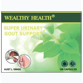 Wealthy Health Super Urinary Gout Support
