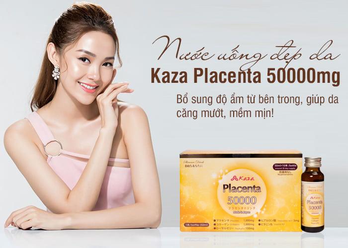 Nước uống nhau thai cừu Kaza Placenta 50000