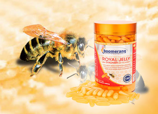 Sữa Ong Chúa Boomerang Royal Jelly and Collagen