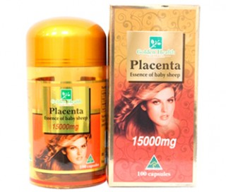 Nhau thai cừu Golden Health Placenta 15000mg