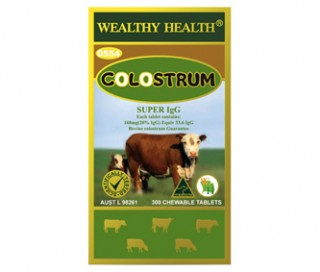 Sữa Non Wealthy health Colostrum 300 viên