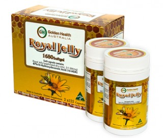 Sữa ong chúa Golden Health Royal Jelly 1680mg