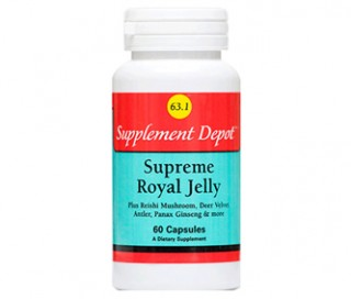 Sữa ong chúa Supplement Depot Supreme Royal Jelly 63.1