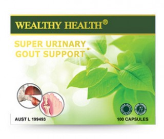 Thuốc hỗ trợ trị gout Wealthy Health Super Urinary Gout Support